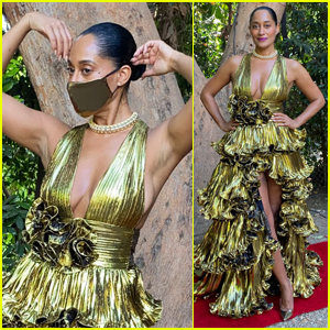 Tracee Ellis Ross Goes Glam While Watching Emmy Awards 2020 From Home!