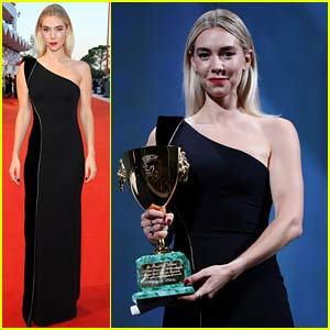 Vanessa Kirby Wins Best Actress Award at Venice Film Festival & Her Movie Sold to Netflix!