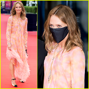 Vanessa Paradis Masks Up For Deauville American Film Festival 2020