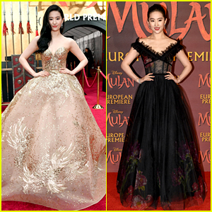 Look Back at Yifei Liu's Gorgeous Red Carpet Looks at 'Mulan' Premieres in March!