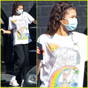 Zendaya Gets Back to Work After Historic Emmys Win!