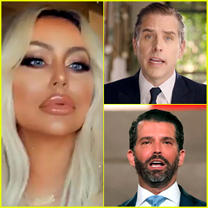 Aubrey O'Day Says She's Ready to 'Swoop Up Hunter Biden' After Previous Fling with Donald Trump Jr.