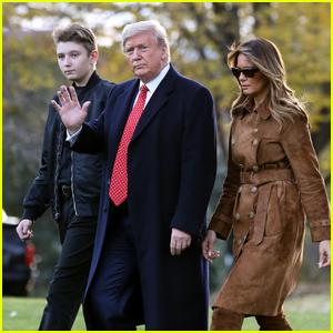 Barron Trump Tested Positive for Coronavirus Alongside Parents Donald & Melania Trump