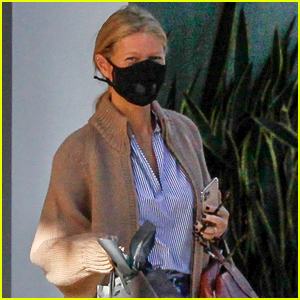 Gwyneth Paltrow Masks Up For A Doctor's Appointment in Beverly Hills