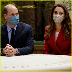 Duchess Kate Middleton & Prince William Wear Their Face Masks on Latest Royal Visit