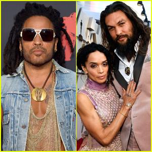 Lenny Kravitz Talks 'Tight' Friendship with Ex Lisa Bonet's Husband Jason Momoa
