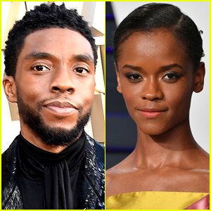 Letitia Wright Is Asked About Filming 'Black Panther' Without Chadwick Boseman