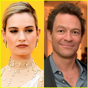 Here's How Lily James Felt About Those Dominic West PDA Pics