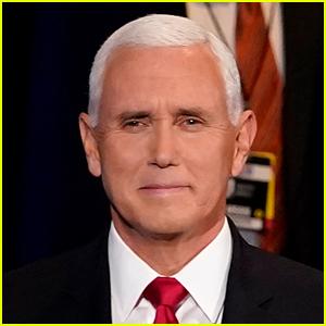'Pink Eye Pence' Is Trending After Mike Pence's Eyes Looked Red at VP Debate
