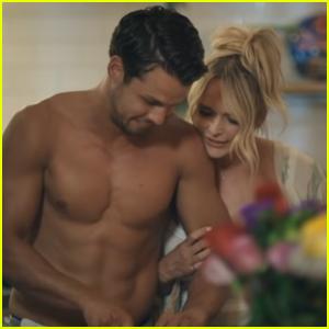 Miranda Lambert's Husband Brendan Mcloughin Bares His Six-Pack Abs in Her 'Settling Down' Video - Watch!