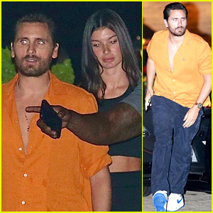 Scott Disick Spotted on Dinner Date at Nobu with Model Bella Banos!