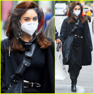 Vanessa Hudgens Stays Safe Filming New Movie 'Tick, Tick... Boom!' in NYC