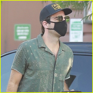 Zachary Quinto Starts Off His Day on Coffee Run