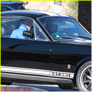 Dakota Johnson Takes a Ride in Her Mustang with Chris Martin for Post-Thanksgiving Coffee Run