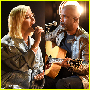 Katy Perry & Country Star Darius Rucker Debut Moving Performance of 'Only Love' at AMAs 2020