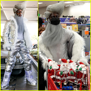 Lil Nas X Goes Holiday Shopping in His 'Holiday' Video Outfit