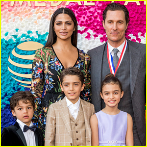 Matthew McConaughey Won't Stop His Kids From Going Into Show Business If They Want To