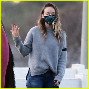 Olivia Wilde Steps Out After It Was Announced She Split with Jason Sudekis