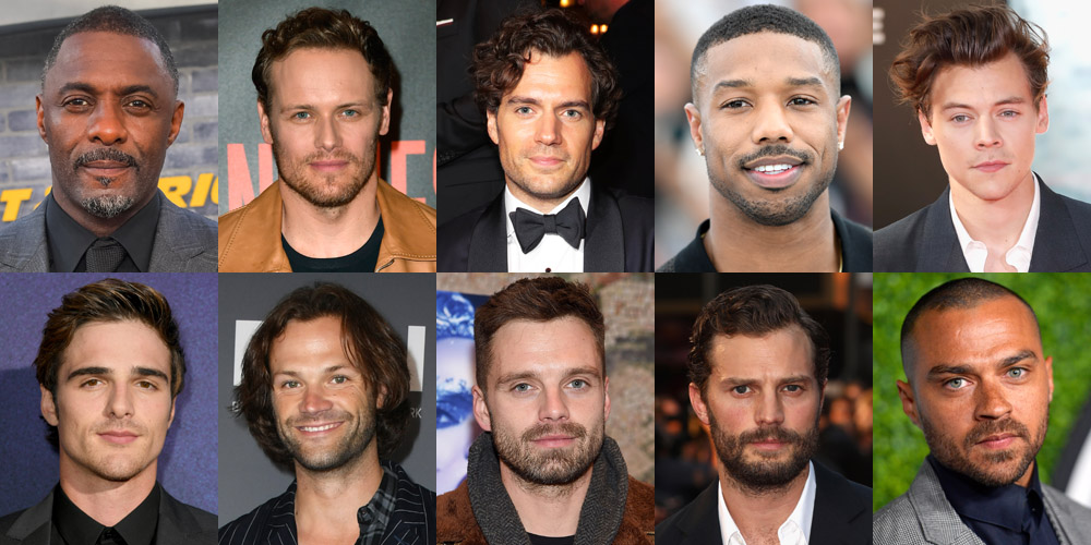 Celebs hottest male Top 20