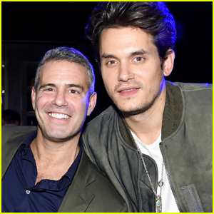 Andy Cohen Shares Adorable Photo of John Mayer Performing for His Son