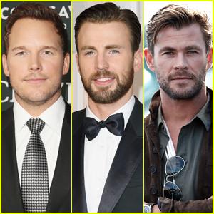 Chris Pratt Comments on 'Who's the Best Chris' Between Him, Chris Evans & Chris Hemsworth