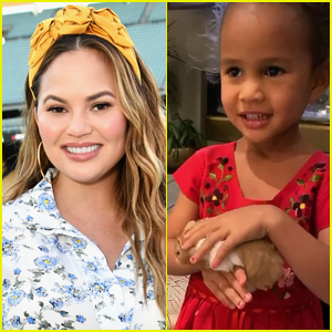 Chrissy Teigen Reveals Daughter Luna's Hamster Peanut Butter Has Died, & They Already Replaced Him