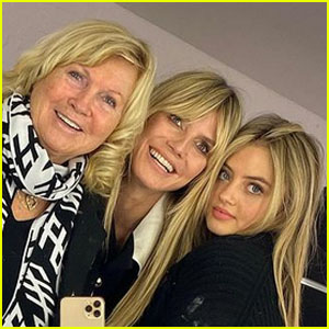 Heidi Klum Shares a Sweet Family Photo With Her Mom & Daughter Leni!