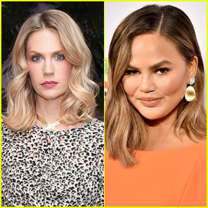 Tabloid Claims January Jones' 'Friends' Are Concerned About Her, Chrissy Teigen Jokes She's the Anonymous Tipster
