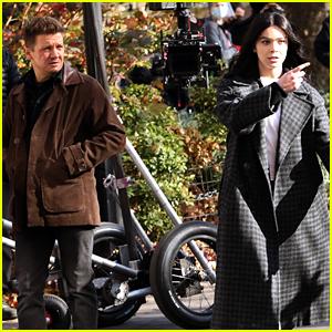 'Hawkeye' Set Photos Show Hailee Steinfeld as Kate Bishop Alongside Jeremy Renner!