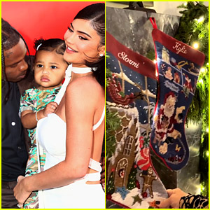 Kylie Jenner Reveals Her Christmas Decorations, No Stocking for Travis Scott