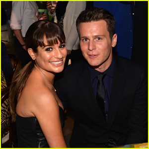 Lea Michele Introduces Son Ever Reich To BFF Jonathan Groff