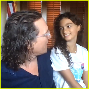 Matthew McConaughey's Daughter Vida Makes Rare Appearance in Video Interview With Him