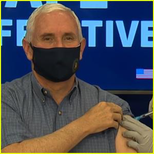 Mike Pence Gets Coronavirus Vaccine Live on Air