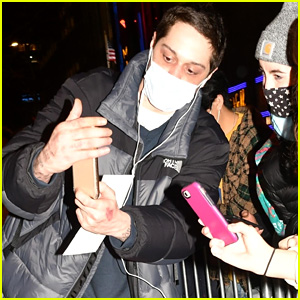 Watch What Happened When Pete Davidson Met a Fan Named Ariana (Video)