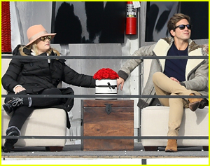 Rebel Wilson & Boyfriend Jacob Busch Watch A Polo Match During Ski Trip
