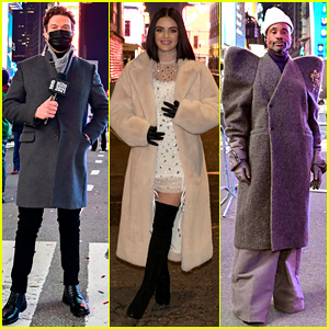 Ryan Seacrest, Lucy Hale, & Billy Porter Are Hosting the New Year's Eve Special in a Nearly Empty Times Square!