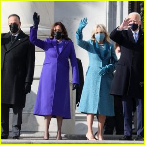 President-Elect Joe Biden & Vice President-Elect Kamala Harris Arrive at U.S. Capitol for Inauguration Ceremony