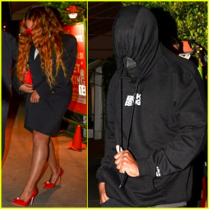 Beyonce & Jay-Z Keep Low Profile During Valentine's Day Date