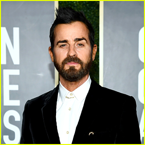 Justin Theroux Rocks a Fauxhawk at the Golden Globes 2021