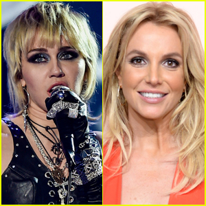 Miley Cyrus Sends 'Love' to Britney Spears During Super Bowl 2021 TikTok Show