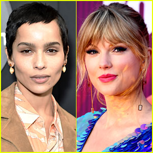 Zoe Kravitz & Taylor Swift Were In a COVID-19 Pod Together - Here's How We Know!