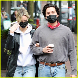 Cole Sprouse & Reported New Girlfriend Ari Fournier Enjoy a Morning Stroll in Vancouver