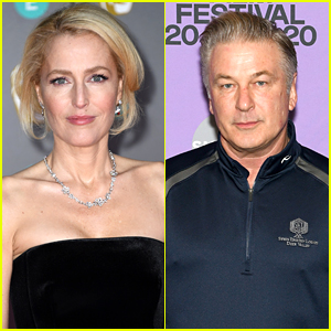 Here's What Gillian Anderson Thought About Alec Baldwin Shading Her Accent