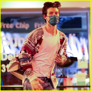 Shawn Mendes Makes Quick Dash to His Car After Late-Night Meeting