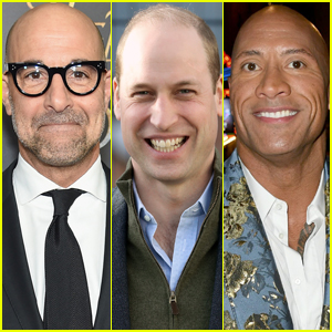 Stanley Tucci & Dwayne Johnson React to Losing World's Sexiest Bald Man Title to Prince William