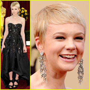 Carey Mulligan Has Only Been to the Oscars Once Before - See That Red Carpet Look!