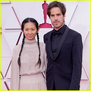 Best Director Nominee Chloe Zhao is Joined by Boyfriend Joshua James Richards at Oscars 2021!