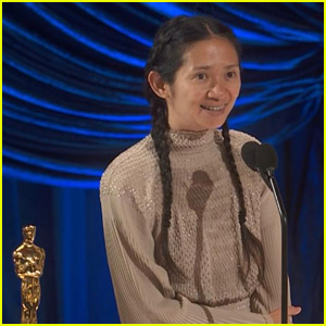 Chloe Zhao Makes History as First Woman of Color to Win Best Director for 'Nomadland' at Oscars 2021 - Watch Her Speech!