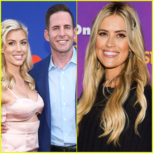 Heather Rae Young & Fiance Tarek El Moussa Talk Co-Parenting With His Ex-Wife Christina Haack