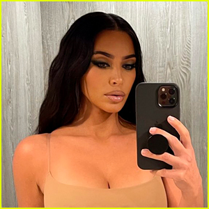 Kim Kardashian Bleached Her Eyebrows & She Looks Unrecognizable!